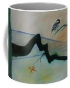Bird Branch Leaf Coffee Mug