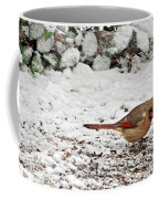 Bird In Winter Coffee Mug