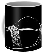 Black And White Pleasure Coffee Mug