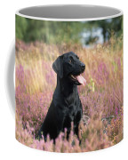 Black Labrador Dog Coffee Mug