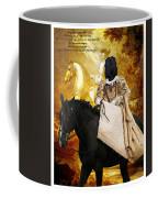 Black Russian Terrier Art Canvas Print Coffee Mug