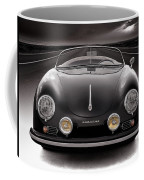 Black Porsche Speedster Coffee Mug
