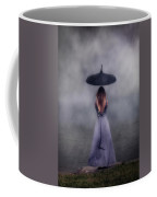 Black Umbrella Coffee Mug by Joana Kruse