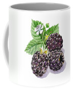 Artz Vitamins Series The Blackberries Coffee Mug