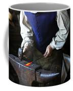 Blacksmith At The Old Fort Coffee Mug