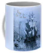 Blame It On The Rum Schooner Coffee Mug by John Stephens
