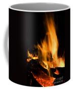 Blazing Campfire Coffee Mug
