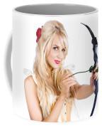 Blond Woman With Cupid Bow Coffee Mug