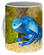 Blue Poison Dart Frog Coffee Mug