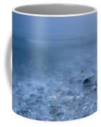 Blue Sea At Sunset Coffee Mug