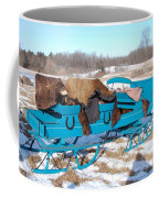 Blue Sleigh Coffee Mug
