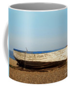 Boat On Shore 02 Coffee Mug by Pixel  Chimp
