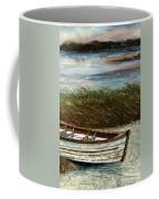 Boat On Shore Coffee Mug