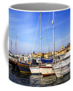Boats At St.tropez Coffee Mug by Elena Elisseeva