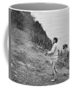 Bobby Jones At Pebble Beach Coffee Mug