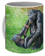 Bonobo Adult And Baby Coffee Mug