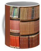 Bookshelves Coffee Mug