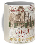Bordeaux Blanc Label 2 Coffee Mug