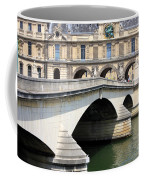 Bridge Over The Seine Coffee Mug