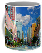 Broad Street - Avenue Of The Arts Coffee Mug