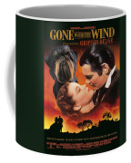 Brussels Griffon Art - Gone With The Wind Movie Poster Coffee Mug