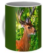 Buck In Velvet Coffee Mug