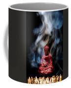 Buddha In Smoke Coffee Mug