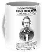 Buffalo Lithia Water, 1890 Coffee Mug