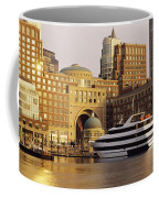 Buildings At The Waterfront, Boston Coffee Mug