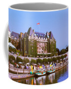 Buildings At The Waterfront, Empress Coffee Mug