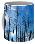 Burnt Pine Trees In A Forest, Grand Coffee Mug