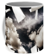 Business Papers Falling In The Sky Coffee Mug