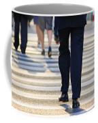 Business People Background Coffee Mug