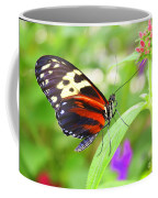 Butterfly On Bush Coffee Mug