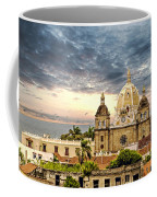 Clouds Over Cathedral Coffee Mug