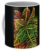 Cadiaeum Crotons Tropical Houseplant Shrub Coffee Mug