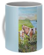 Cow And Calf Coffee Mug