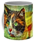 Calico Kitty Coffee Mug