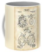 Camera Shutter Patent 1910 - Vintage Coffee Mug