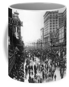 Canal Street In New Orleans Coffee Mug