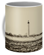 Cape May Lighthouse In Sepia Coffee Mug