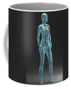 Cardiovascular System Female Coffee Mug