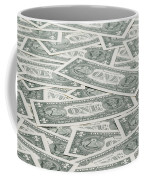 Carpet Of One Dollar Bills Coffee Mug
