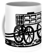 Cart, 19th Century Coffee Mug