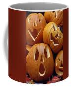 Carved Pumpkins Coffee Mug