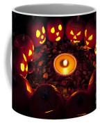 Carved Pumpkins With Pumpkin Pie Coffee Mug