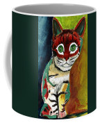 Cat Around Corner Coffee Mug