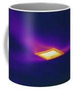 Ceiling Heating Vent, Thermogram Coffee Mug