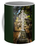 Celtic Cross Coffee Mug by Adrian Evans