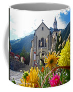 Chamonix Church Coffee Mug